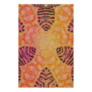 Crazy Animal Print Abstract Cork Fabric