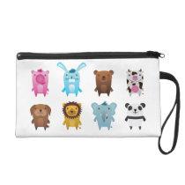 Crazy animals bagettes bag