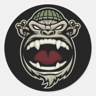 Crazy Ape Stickers