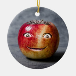 Crazy Apple Strange Friend Ornament