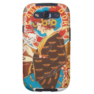 Crazy Art Nouveau French victorian illustration Samsung Galaxy SIII Cases