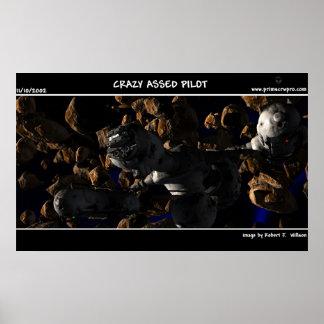 Crazy Assed Pilot Poster
