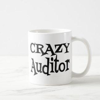 Crazy Auditor Classic White Coffee Mug