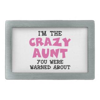 Crazy Aunt Belt Buckle