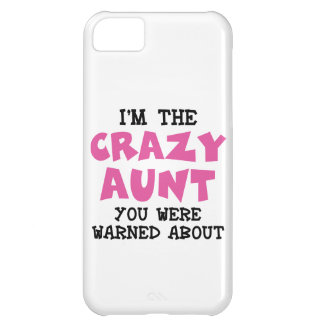 Crazy Aunt iPhone 5C Cover