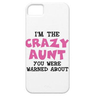 Crazy Aunt iPhone SE/5/5s Case
