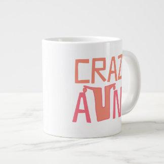 Crazy Aunt Large Coffee Mug