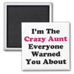 Crazy Aunt Magnets