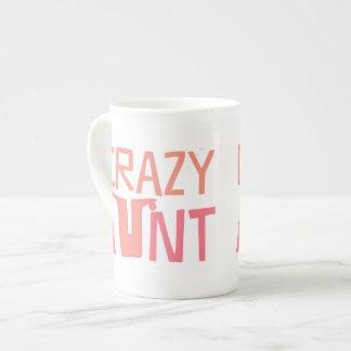 Crazy Aunt Tea Cup
