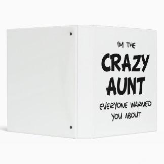Crazy Aunt Vinyl Binders