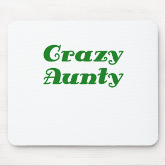 Crazy Aunty Mouse Pad