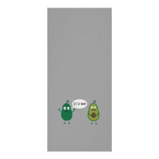 crazy avocado undresses rack card