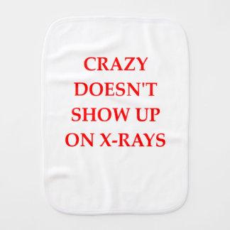 CRAZY BABY BURP CLOTH