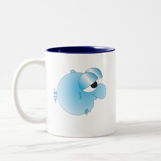 Crazy Baby Fishy Mug
