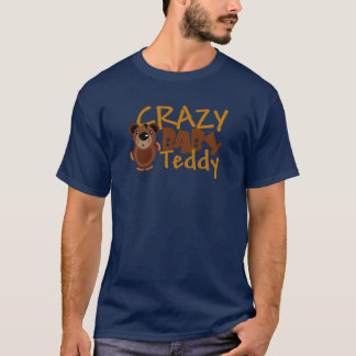 Crazy baby teddy - Customized T-Shirt