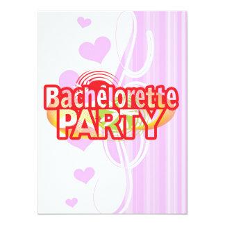 crazy bachelorette party wild retro vintage crazy custom announcements