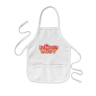 crazy bachelorette party wild retro vintage crazy kids' apron