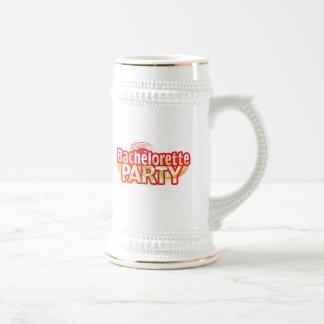 crazy bachelorette party wild retro vintage crazy mug