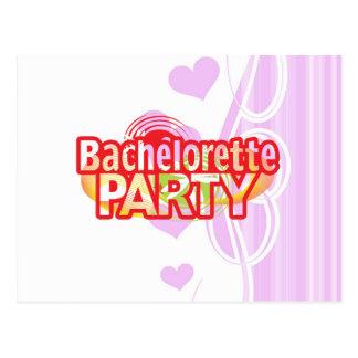 crazy bachelorette party wild retro vintage crazy postcard