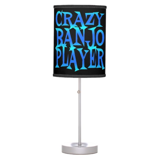 Crazy Banjo Player Table Lamp Zazzle