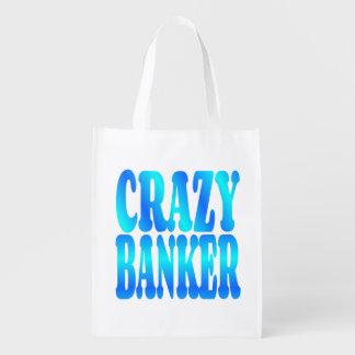 Crazy Banker Market Tote