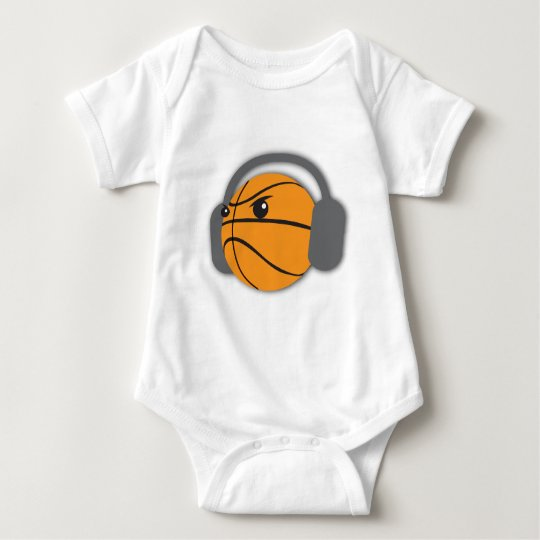 Crazy Basketball Baby Bodysuit