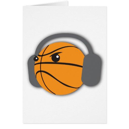 Crazy Basketball Greeting Cards