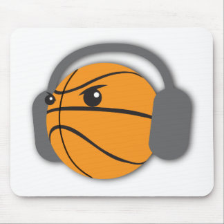 Crazy Basketball Mouse Pad