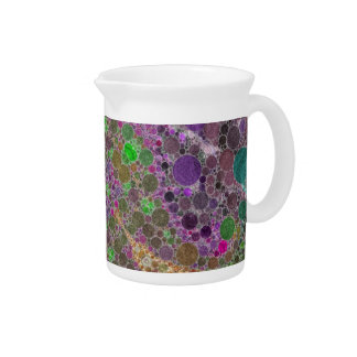 Crazy Beautiful Abstract Beverage Pitcher