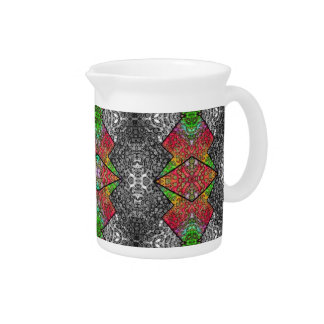 Crazy Beautiful Abstract Beverage Pitchers