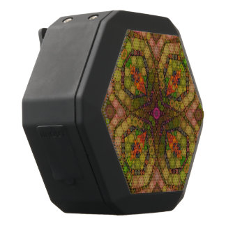 Crazy Beautiful Abstract Black Boombot Rex Bluetooth Speaker