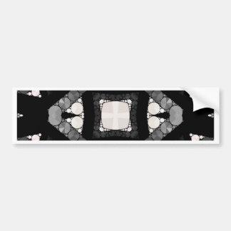Crazy Beautiful Abstract Car Bumper Sticker