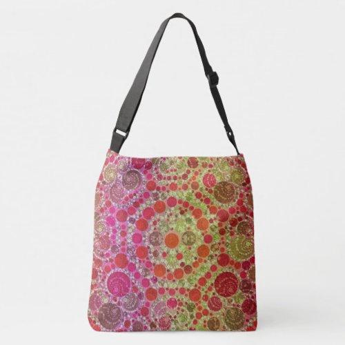 Crazy Beautiful Abstract Crossbody Bag
