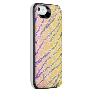 Crazy Beautiful Abstract iPhone5/5s Battery Case Uncommon Power Gallery™ iPhone 5 Battery Case