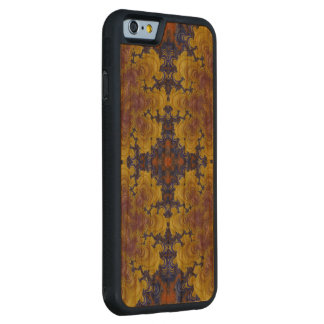 Crazy Beautiful Abstract iPhone6 Wood Carved case Carved® Cherry iPhone 6 Bumper Case