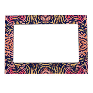 Crazy Beautiful Abstract Picture Frame Magnets