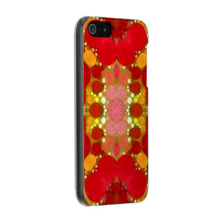 Crazy Beautiful Abstract Metallic Phone Case For iPhone SE/5/5s