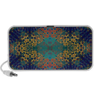 Crazy Beautiful Abstract Mp3 Speakers