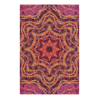 Crazy Beautiful Abstract Pattern Cork Paper Print