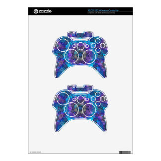 Crazy Beautiful Abstract Pattern Xbox 360 Controller Skin