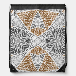 Crazy Beautiful Abstract Drawstring Backpack