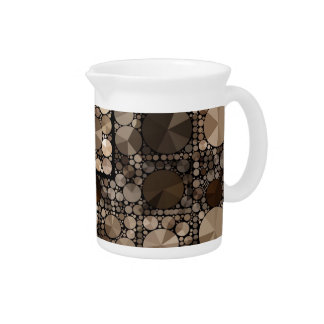 Crazy Beautiful Abstract Pitcher