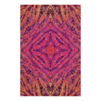 Crazy Beautiful Abstract Cork Paper Print