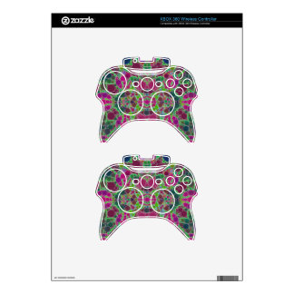 Crazy Beautiful Abstract Xbox 360 Controller Skins
