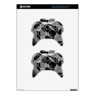 Crazy Beautiful Abstract Xbox 360 Controller Decal