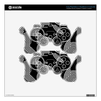 Crazy Beautiful Abstract Skins For PS3 Controllers