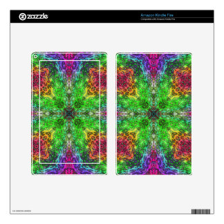 Crazy Beautiful Abstract Kindle Fire Skin