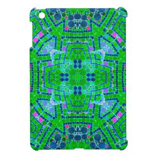 Crazy Beautiful Florescent Green Abstract iPad Mini Cover