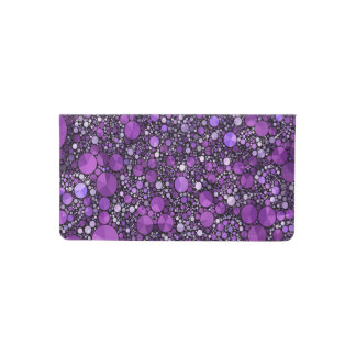 Crazy Beautiful Fractal Checkbook Cover