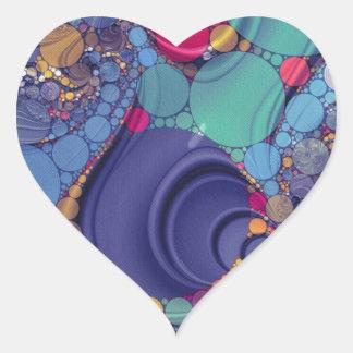 Crazy Beautiul Heart Sticker